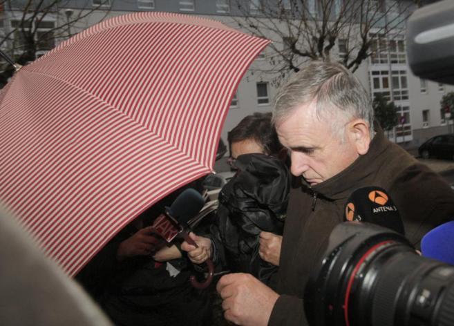 El electricista Manuel Fernández Castiñeiras, autor confeso del robo...