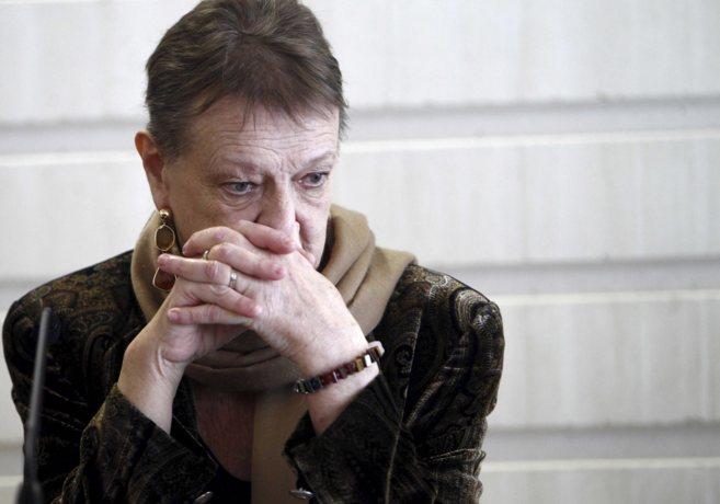 La ya ex intendente del Palau de Les Arts, Helga Schmidt.