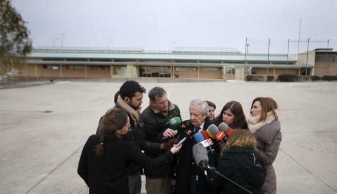 El hasta ahora abogado de Bárcenas, Javier Gómez de Liaño, ayer en...