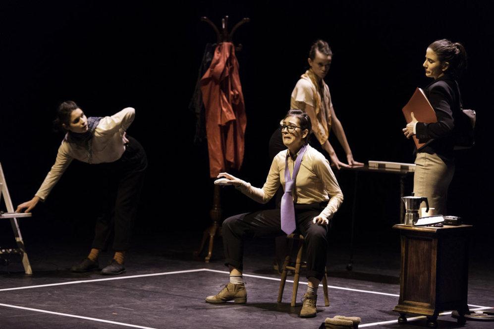Momento de la obra de teatro 'Interrumpted'