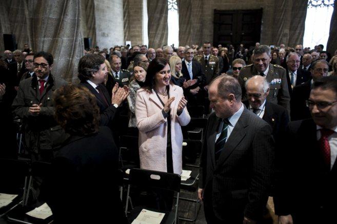Maria José Català, en un acto el pasado martes.
