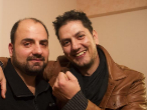 Dimitri (izquierda) junto a su hermano Kosta.