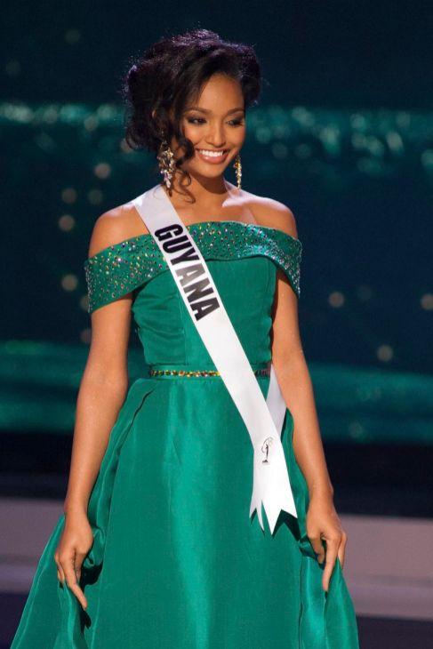 Niketa Barker, Miss Guyana.