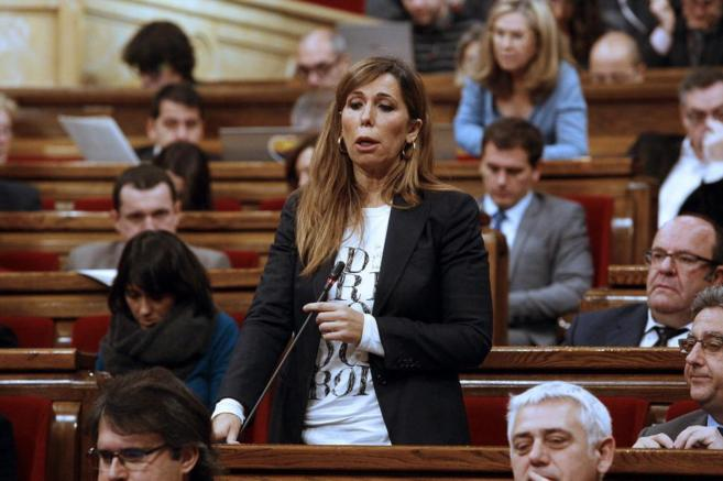 Alicia Sánchez-Camacho en el pleno