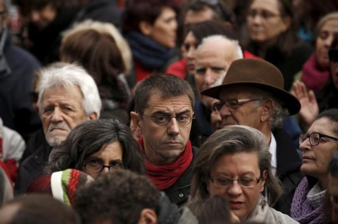 El 'número tres' y fundador de Podemos, Juan Carlos Monedero, en una...