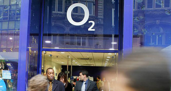 Tienda de O2 en Londres