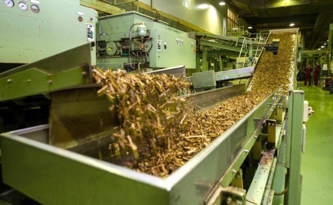 Fábrica de cigarrillos de Altadis en La Rioja.