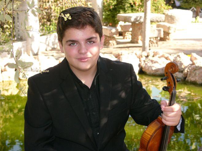 El joven Carlos Rafael Martínez.