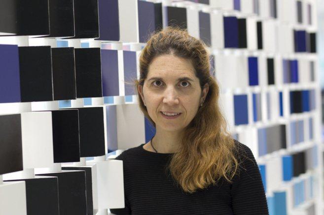 Nuria Oliver, directora científica de Telefónica I+D Barcelona, que...
