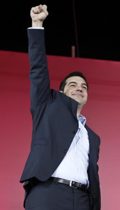 El líder de Syriza, Alexis Tsipras.