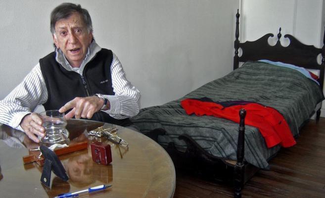 Joe Rigoli, en La Casa del Teatro, en 2009.