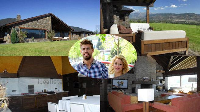 Fotos de la mansión que quieren comprar Piqué y Shakira.