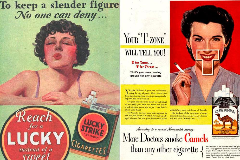 'Para mantener una figura esbelta coge un Lucky en vez de un dulce',...