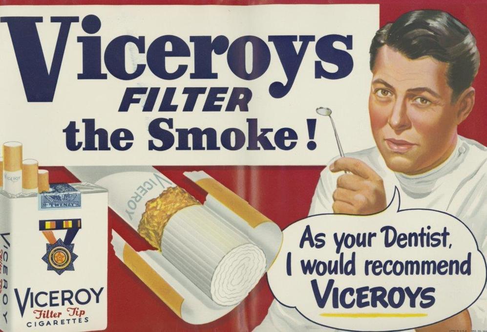 'Como su dentista, recomendaría Viceroys'