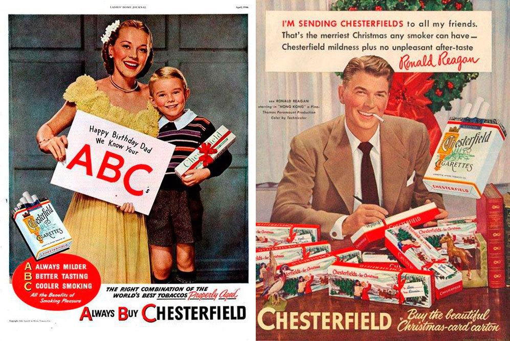 Chesterfield tenía su propio ABC: Always Buy Chesterfield, y era el...