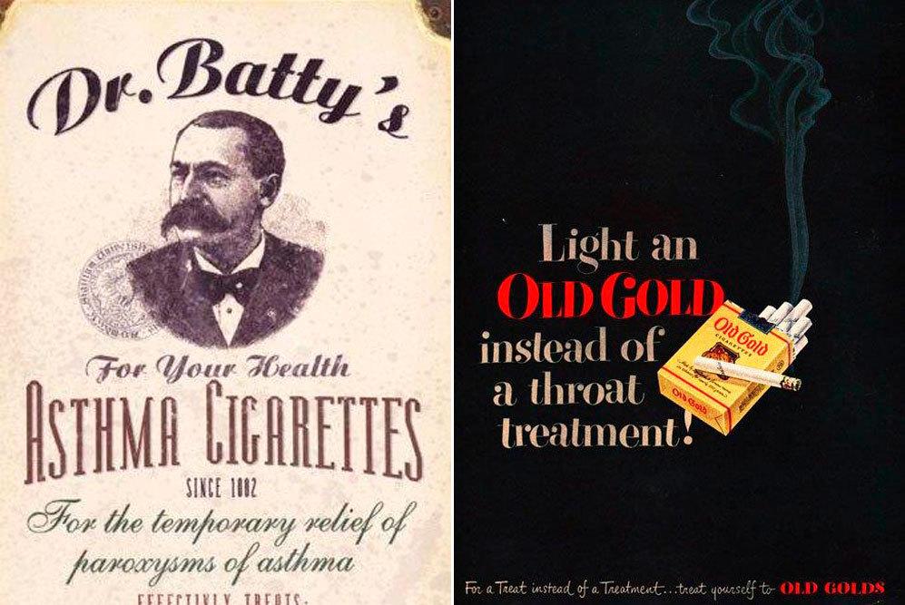 Parece increíble, pero los cigarros de Dr. Batty's eran saludables y...