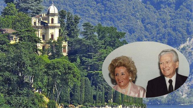 Romeo Invernizzi, fallecido en 1994, y su mujer Erica, en una imagen...