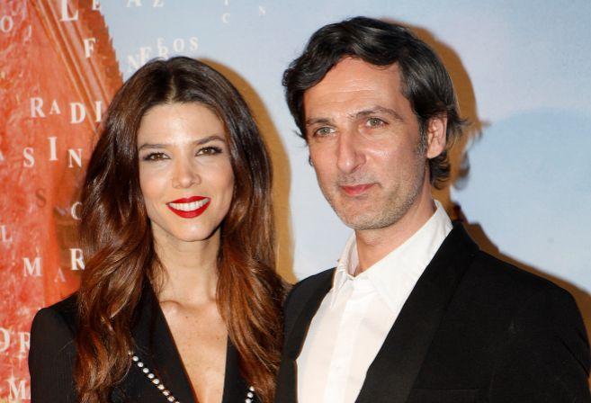 Juana Acosta con Ernesto Alterio, en una imagen reciente.