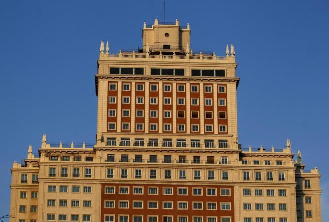 Fachada del Edificio España.