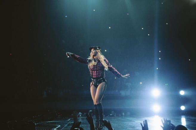 Beyoncé, en Barcelona, en primavera pasada. Los números no salieron...
