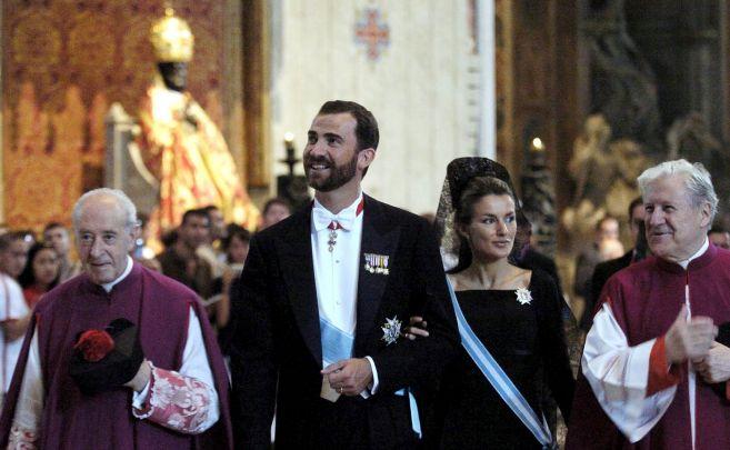 Los Reyes Felipe y Letizia, en una foto de archivo.