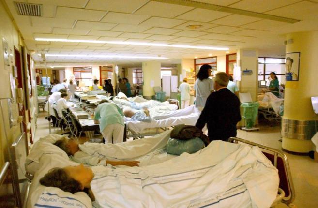 Foto de archivo de las Urgencias del Gregorio Marañón.
