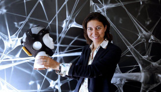 Ana Maiques, fundadora de Starlab, una de las empresas seleccionadas...