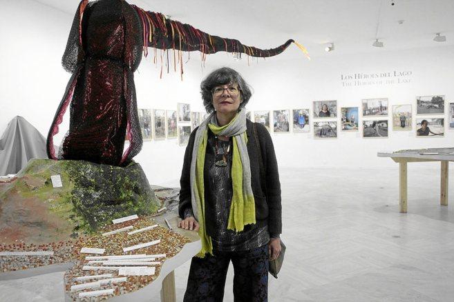La artista brasileña Maria Thereza Alves, en la presentación de su...