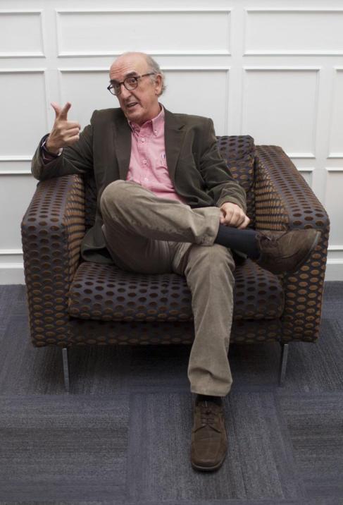 Jaume Roures, durante la entrevista.