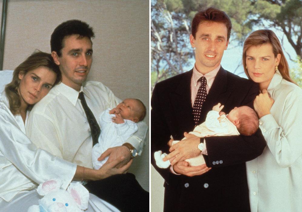 El 26 de noviembre de 1992 dio a luz a su hijos Louis Robert Paul.