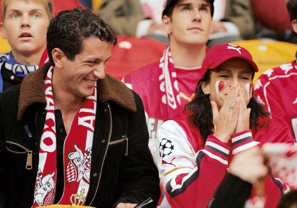 Estefanía de Mónaco y su marido, Adans López, se dejaron ver...