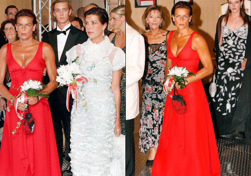 Otros años, la hemos visto lucir vestidos impresionantes durante...