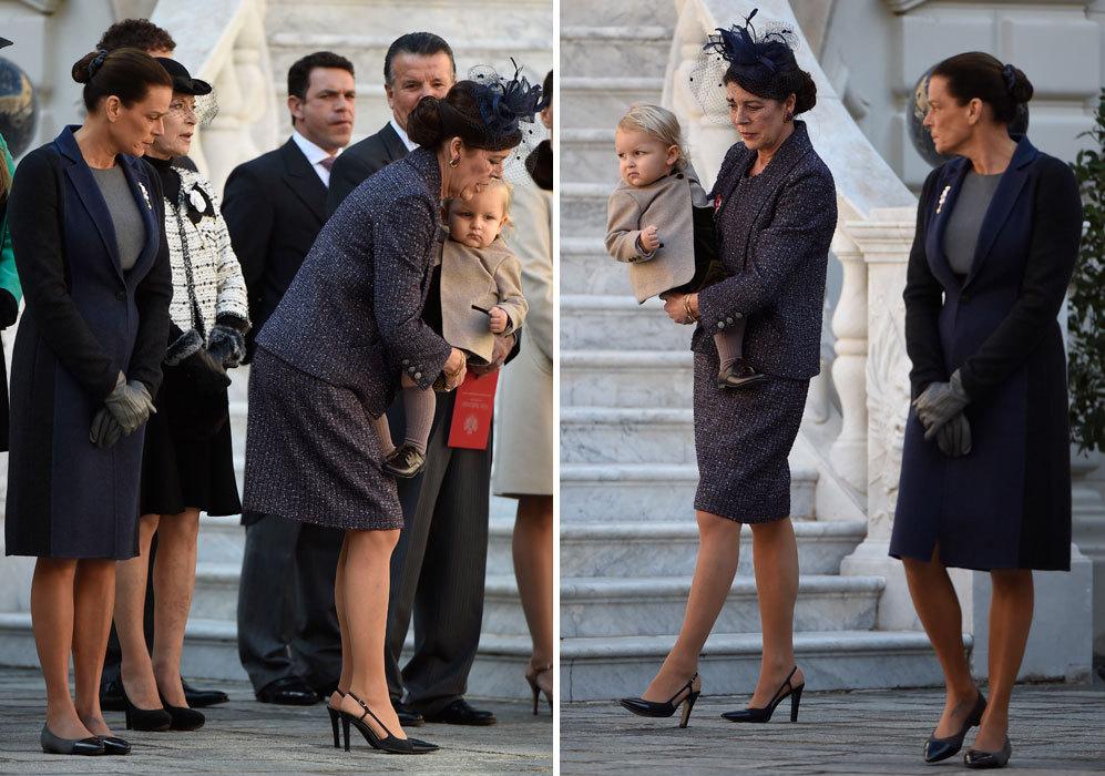 Convertida ya en tía abuela, Estefanía de Mónaco no ha mostrado su...