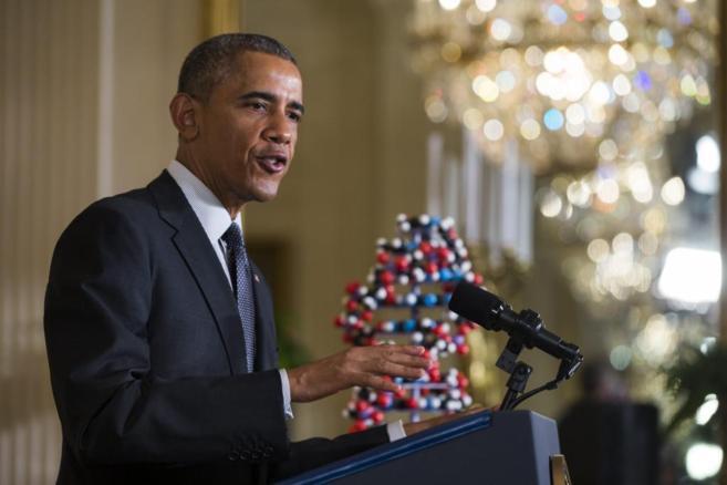 El presidente estadounidense, Barack Obama, ha anunciado su plan en la...