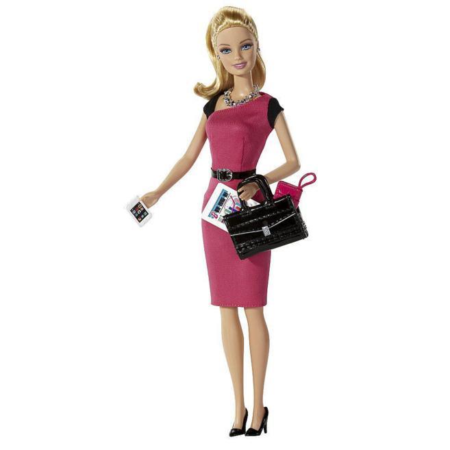 La clásica muñeca Barbie