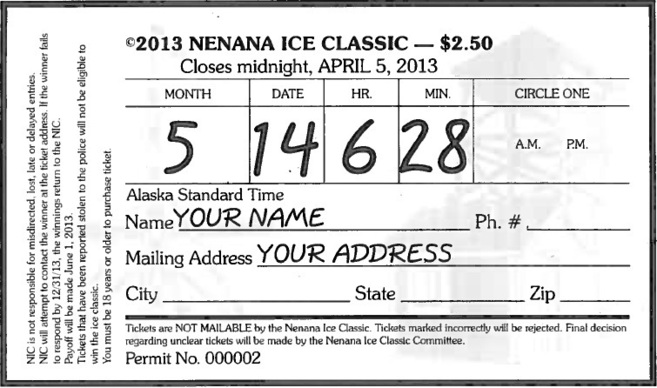 Premio: 360.000 $ Un boleto de lotería. El año pasado se registraron...