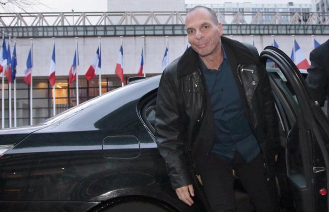 El ministro de Finanzas griego, Yanis Varoufakis