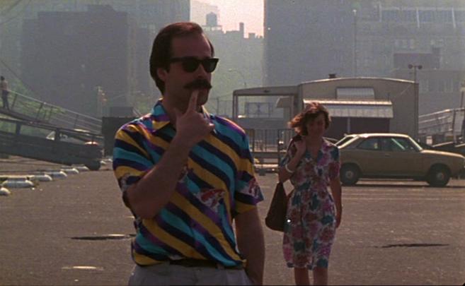 Antonio Resines en Manhattan, en 'La línea del cielo'...