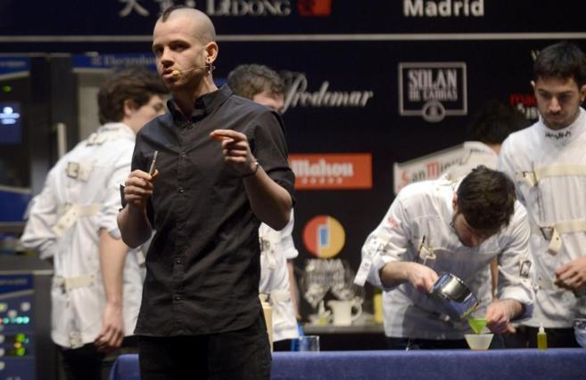 David Muñoz en Madridfusión 2015
