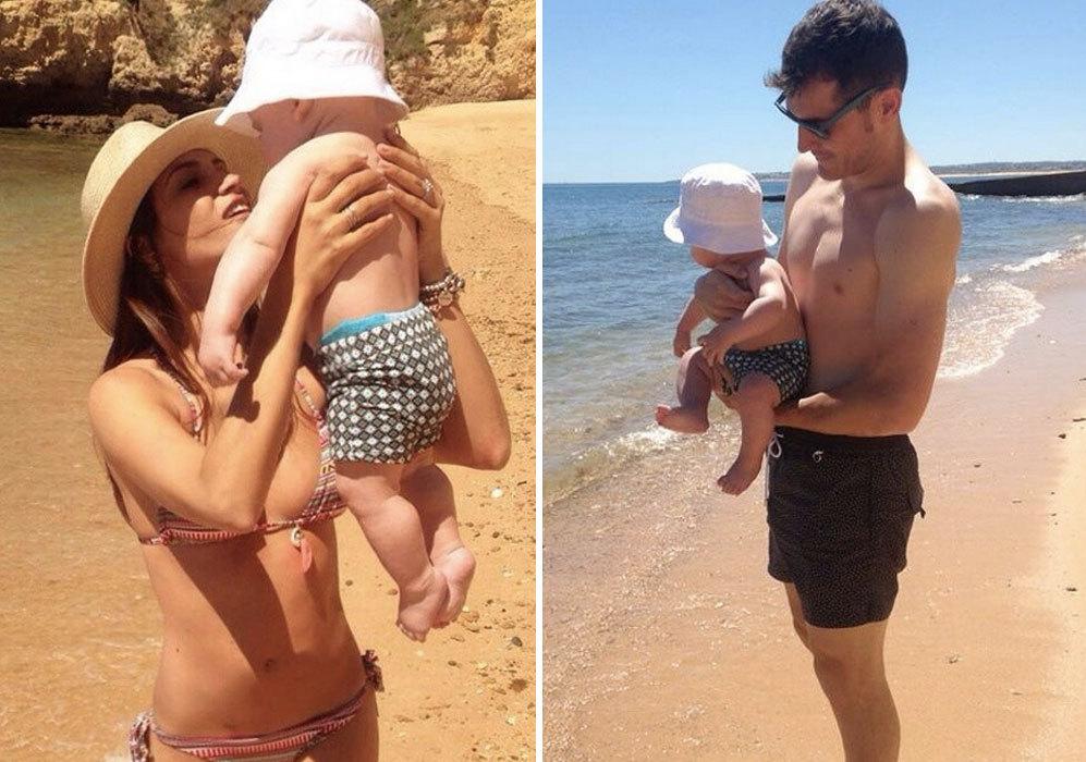 Este pasado verano, Iker ya mostraba a su hijo Martín en su cuenta...