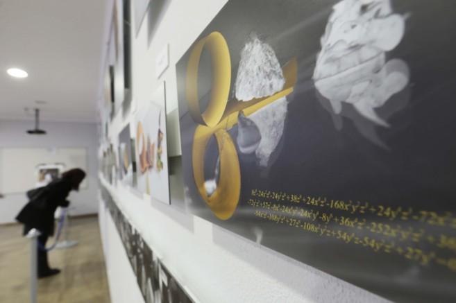Exposición sobre matemáticas y gastronomía dentro de la...