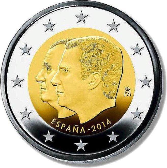 Las nuevas monedas con el rostro de Felipe VI ya están en