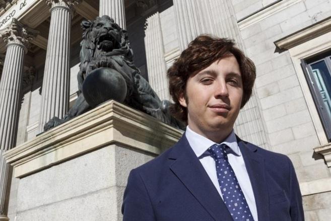 Francisco Nicolás en en el Congreso de los Diputados durante una...
