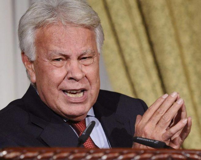 El ex presidente del gobierno, Felipe González