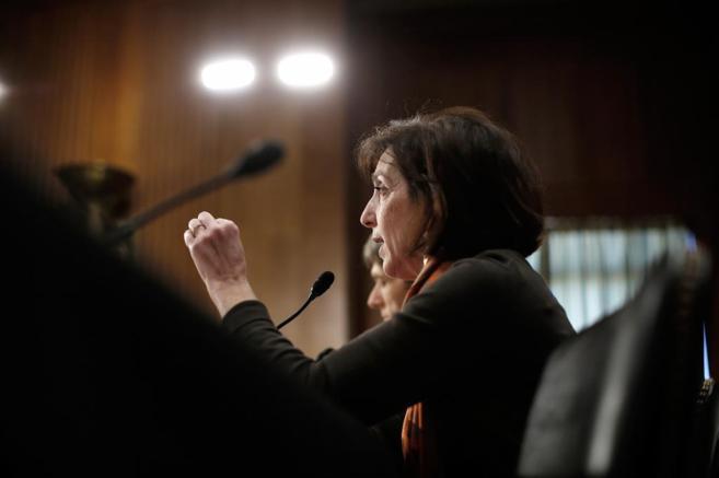 Roberta Jacobson, subsecretaria de Estado de Estados Unidos, comparece...