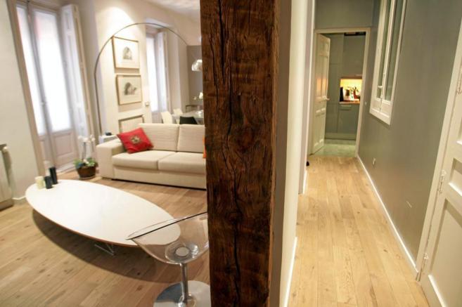 Imagen de archivo del interior de una vivienda recién reformada.
