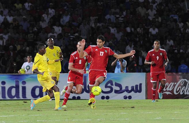 Un partido de la selección marroquí.