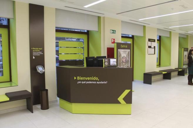 Punto de entrada a una de las 120 oficinas ágiles que ha abierto...