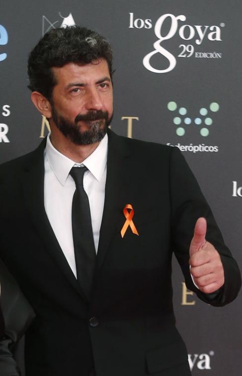 Alberto Rodríguez, director de 'La isla mínima', con un...