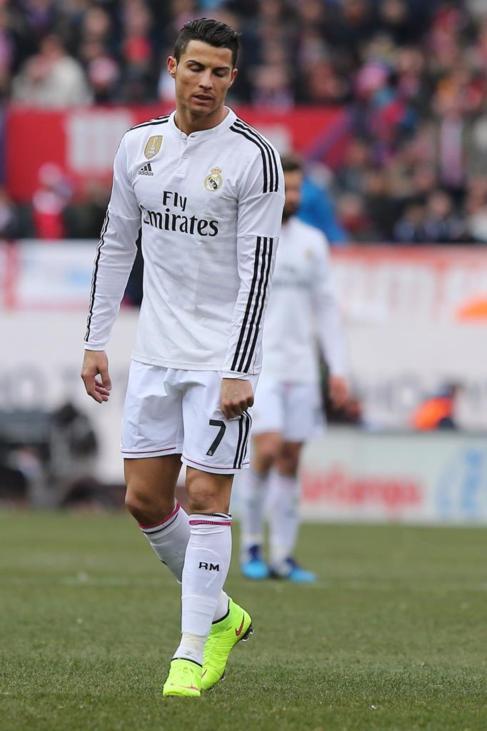 Cristiano Ronaldo, en un momento del partido.